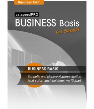 satspeedPRO Business Basis via Satellit mit bis zu 50 Mbit³