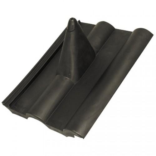 Dachpanne (schwarz) für Frankfurter Dachpfanne