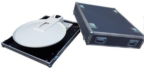 satspeed.PRO Fly & Drive Away IPC77-II Antenne eingefahren