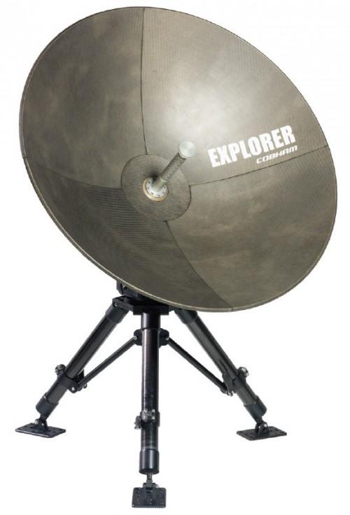 Cobham Explorer 3075 GX-Conversion-Kit mobile VSAT Antenna