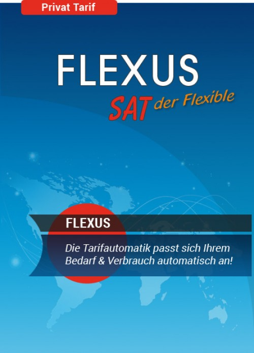 50 Mbit Internet Flatrate via Satellit