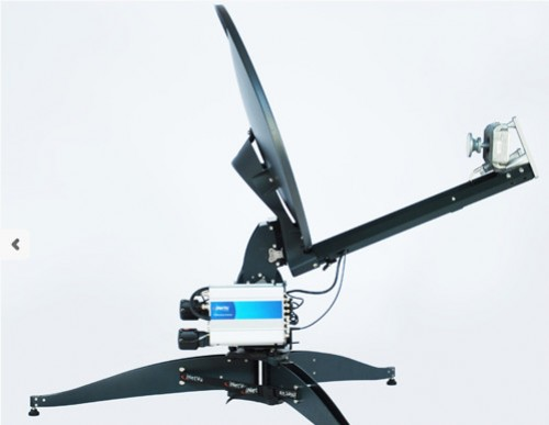 iNetVU FLY-75V Flyaway Antenne 3