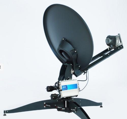 iNetVU FLY-75V Flyaway Antenne 2