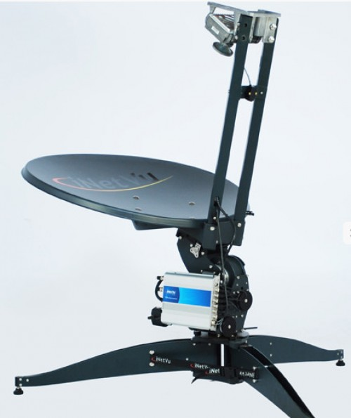 iNetVU FLY-75V Flyaway Antenne 4