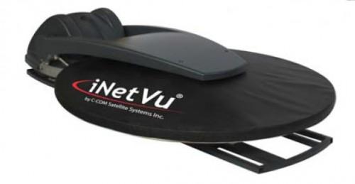 iNetVu KA1202V 120cm autopointing Antenna stowed