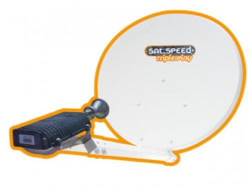 KSAT 77cm VISAT Antenne